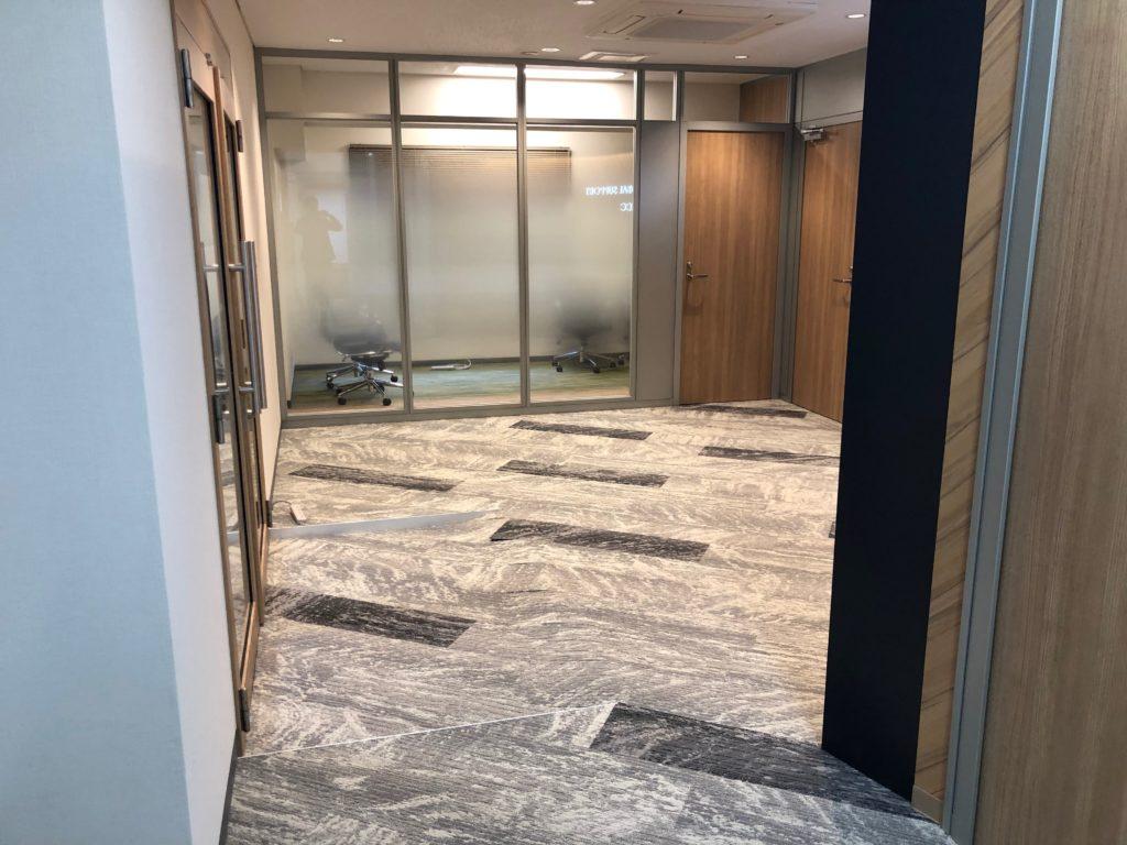 東京都千代田区 内装工事、カーペット貼り替え工事