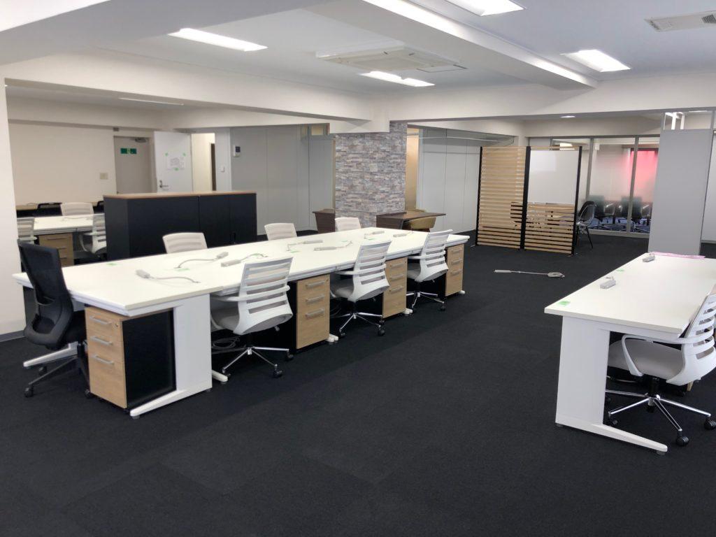 東京都千代田区 内装工事、オフィス家具