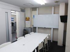 会議室  パーテーション工事  ホワイトボード造作