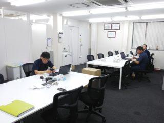 東京都江戸川区 オフィス工事 フリーアドレス化