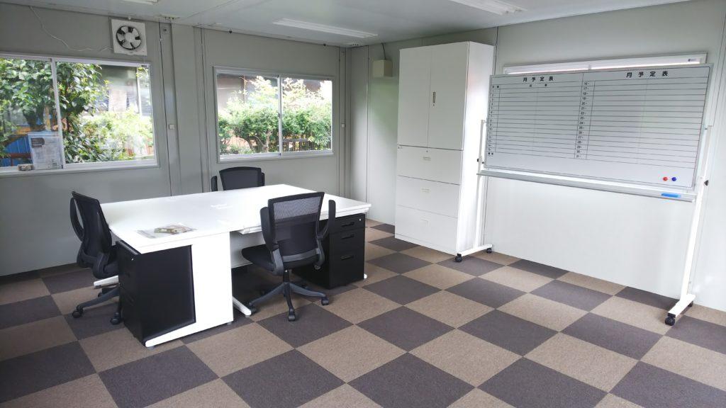 オフィス家具設置