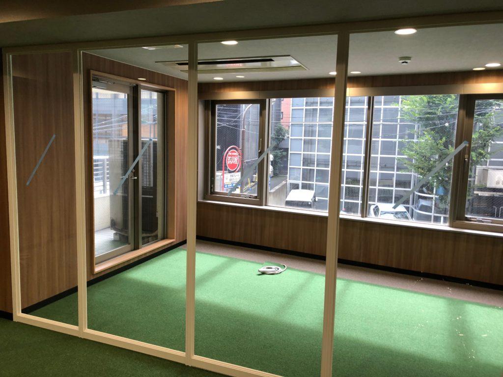 東京都港区 オフィス工事 パーテーション新設