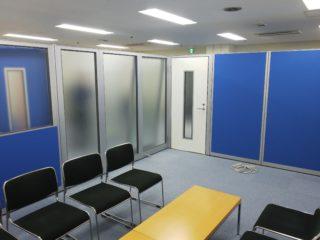 東京都港区 オフィス工事 ローパーテーション新設