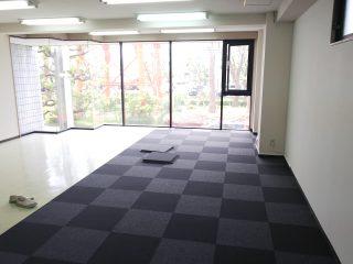 神奈川県横浜市  タイルカーペット工事